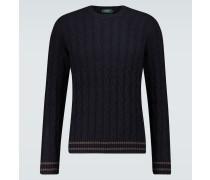 Pullover Giro aus Wolle