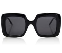 Oversize-Sonnenbrille GG aus Acetat