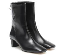 Ankle Boots Tilly aus Leder