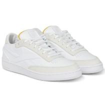 Sneakers Club C aus Leder