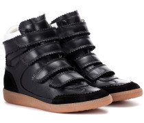 High-Top-Sneakers Bilsy aus Leder