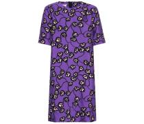T-Shirt-Kleid mit Blumenprint