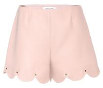 Verzierte Shorts aus Wolle und Seide