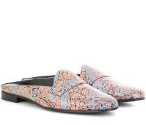 Slippers Jacno aus Leder
