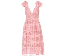 Exklusiv bei mytheresa.com – Kleid mit Lochspitze