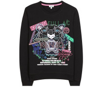 Bestickter Sweater aus Baumwolle