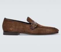 Loafers Pamesa aus Veloursleder