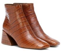 Ankle Boots Jimme aus Leder