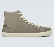 Canvas-Sneakers Mid Tabi