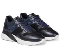 Sneakers Active One mit Lederbesatz