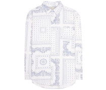 Print-Bluse The Prep School Shirt aus Baumwolle