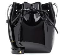 Bucket-Bag Mini Mini aus Lackleder