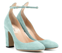Garavani Pumps Tan-Go aus Veloursleder