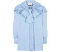 Bluse aus Baumwolle