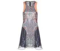 Kleid Juno aus Seidenchiffon mit Pailletten