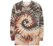 Bedruckter Pullover aus Cashmere