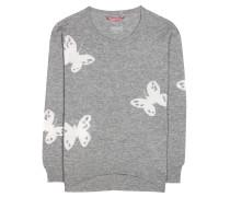 Strickpullover Irene Butterfly aus Wolle und Cashmere