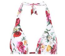 Bikini-Oberteil mit Blumenprint