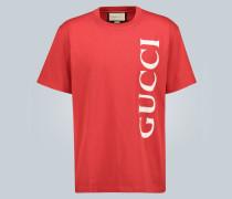 Oversize-T-Shirt mit Logo-Print