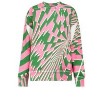 X Ed Curtis Sweatshirt aus Baumwolle
