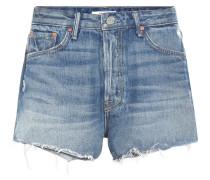 High-Rise Jeansshorts Cindy aus Baumwolle
