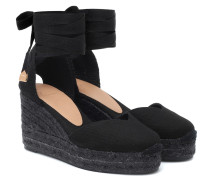 Wedges Chiara aus Canvas