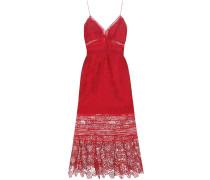 Trägerkleid Floral Blush aus Spitze