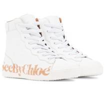 Sneakers Essie aus Leder