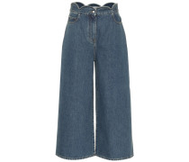 Culottes aus Denim