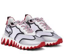 Verzierte Sneakers Sharkina aus Mesh