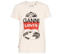 X Levi's® T-Shirt aus Baumwolle und Hanf