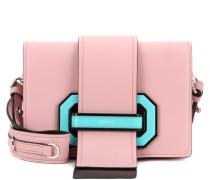 Schultertasche Plex Ribbon aus Leder