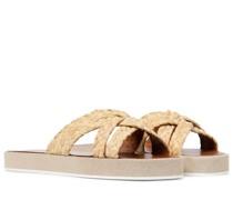 Sandalen Gael aus Raffiabast