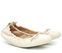 Ballerinas Dee aus Leder