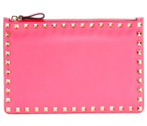 Leder-Clutch Rockstud Small