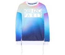 Sweatshirt mit Print aus Baumwolle