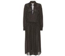 Bedrucktes Crosby Kleid aus Seide