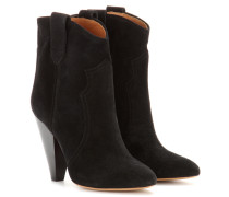 Étoile Ankle Boots Roxann aus Veloursleder