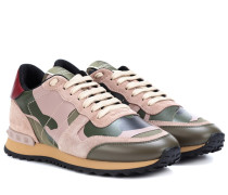 Sneakers Camouflage aus Leder