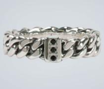 Sterlingsilber-Ring mit Spinellen