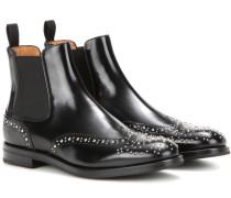 Verzierte Chelsea Boots Ketsby aus Leder