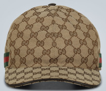 Logo-Baseballcap aus Canvas