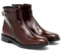Ankle Boots Timeless T aus Leder