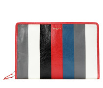 Bazar leather clutch