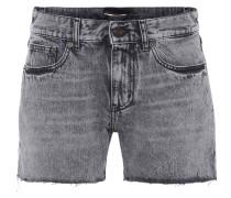 High Rise Shorts aus Denim