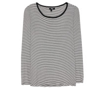 Gestreiftes T-Shirt Alessandra aus Baumwoll-Jersey