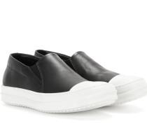 Slip-on-Sneakers Boat aus Leder
