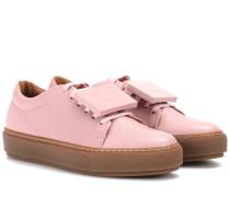 Exklusiv bei mytheresa.com – Sneakers Adriana TurnUp aus Leder