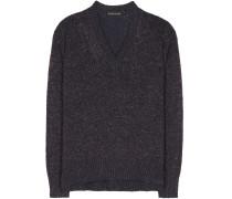 Pullover aus einem Wollgemisch mit Cashmere