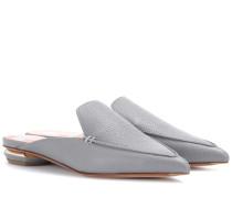 Slippers Beya aus Leder